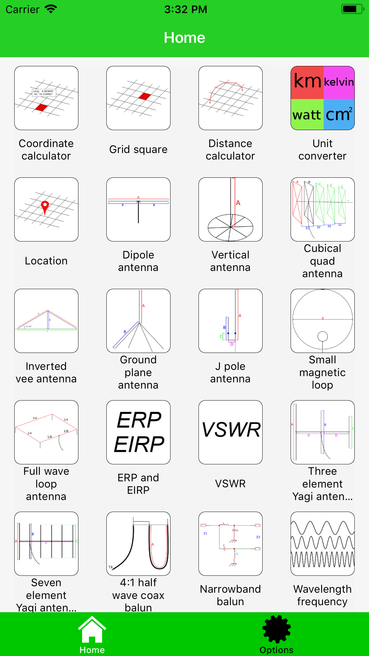7 Element Yagi Antenna Calculator