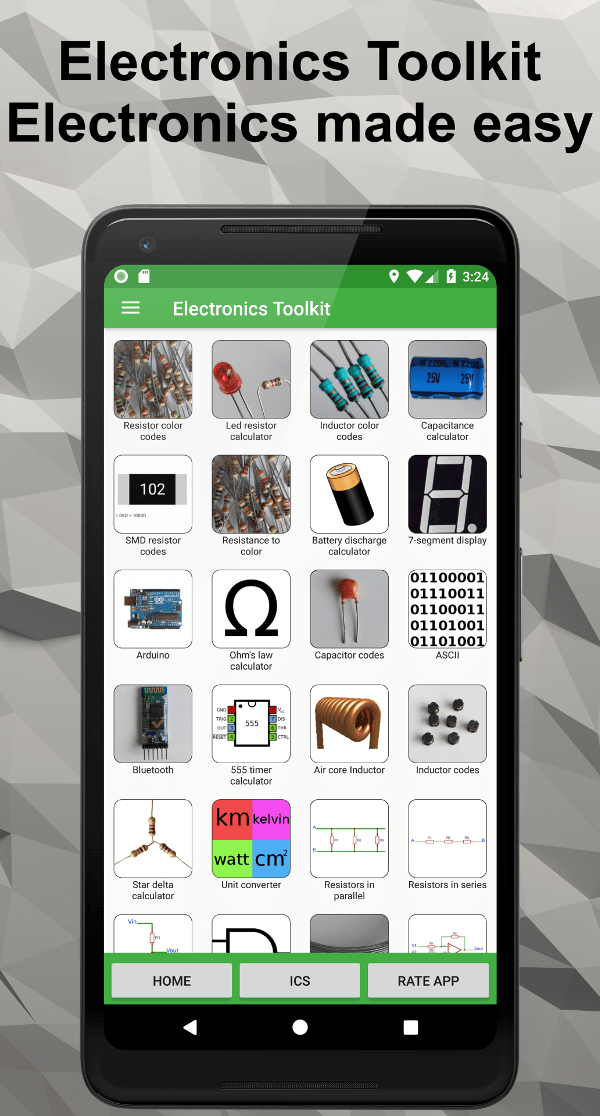 Electronics Toolkit - Apps - Electronial