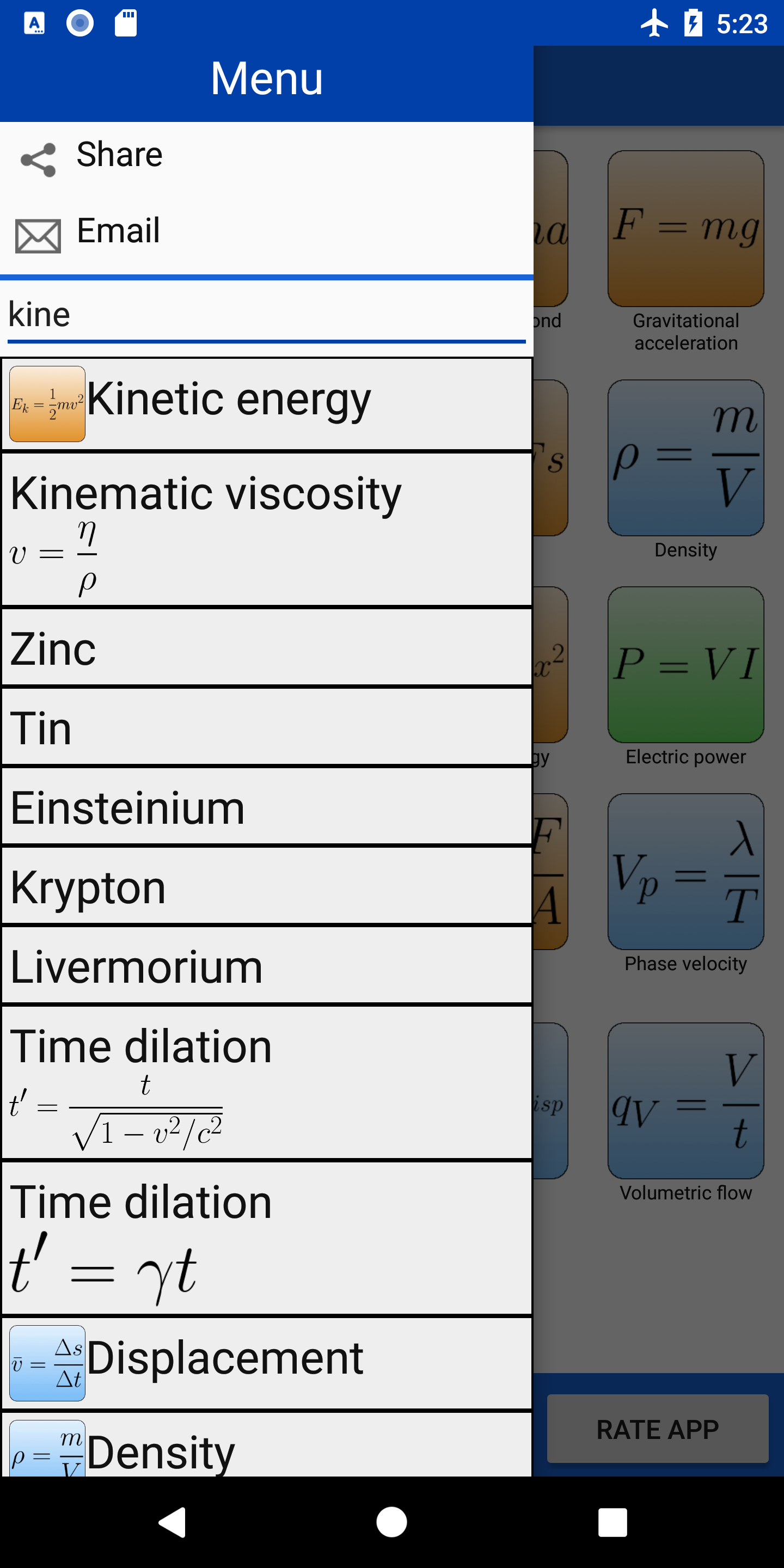 Physics Toolkit - Apps - Electronial